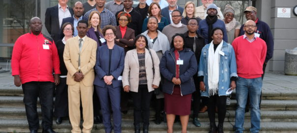 Stakeholders at DWR-Africa Regional Meeting in Cape Town on 18 June 2018